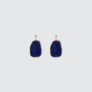 Lapislázuli blue stone Earrings