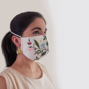 Flowers - Reusable Fabric Facemask