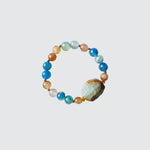 Blue Agatha Bracelet with stone