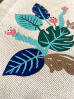 Tropical Jungle Collection, Handpainted Cotton Placemats