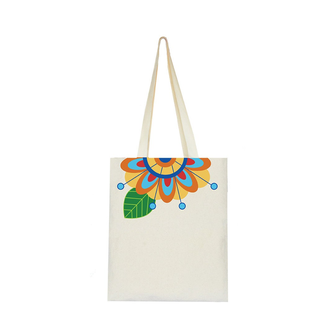 Floral Collection, Handpainted Tote Bag