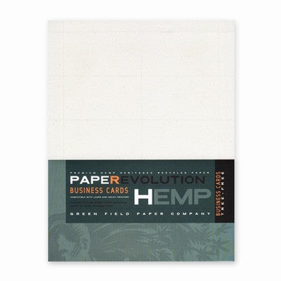 Hemp Heritage Blank Business Cards Pack