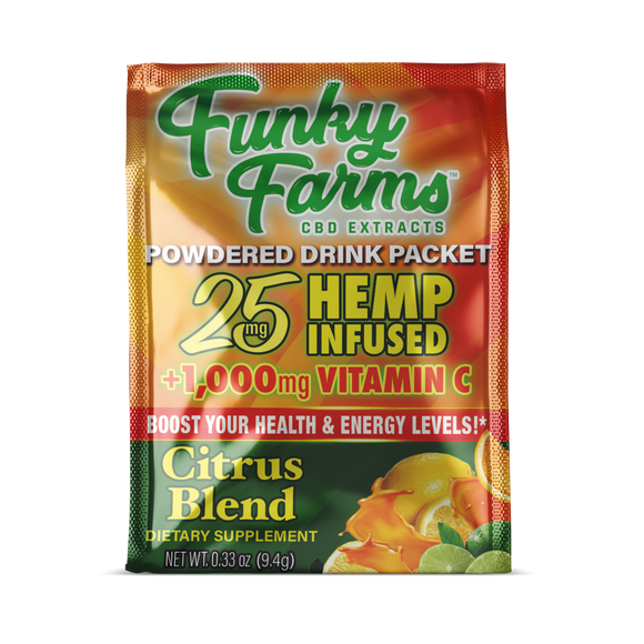 Citrus Drink Packet by Funky Farms - 25mg