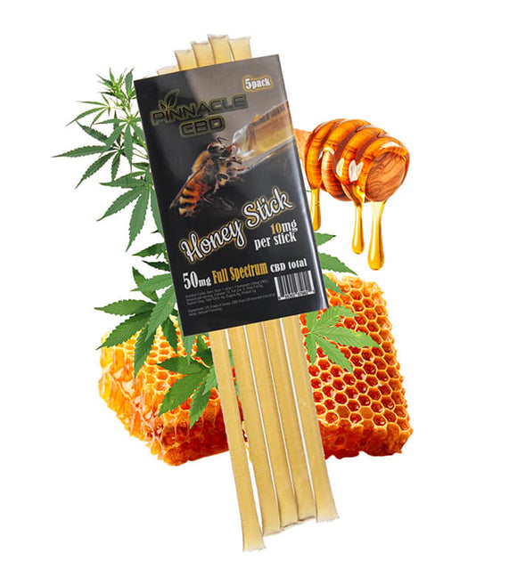 10 mg CBD Honey Stick by Pinnacle Hemp (Single)