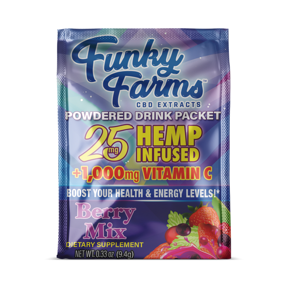 Berry Drink Packet by Funky Farms - 25mg
