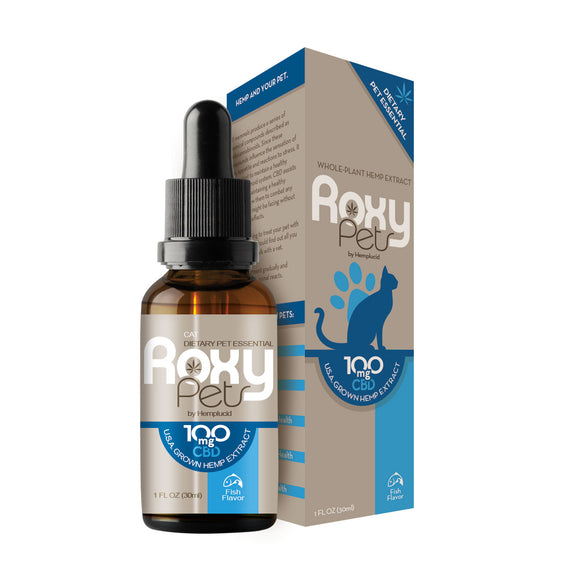 CBD Cat Tincture by Roxy