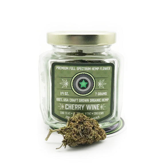 Cherrywine Hemp Flower by The Helping Friendly