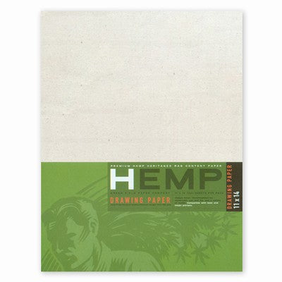 Hemp Heritage Drawing Paper Art Pack
