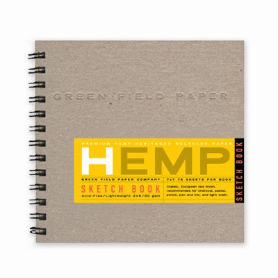 Hemp Heritage Sketch Book