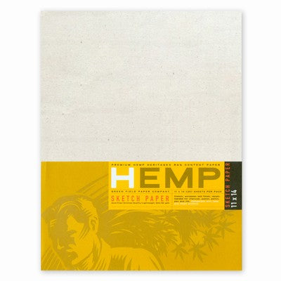 Hemp Heritage Sketch Paper Art Pack