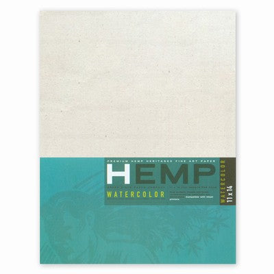 Hemp Heritage Watercolor Paper Art Pack