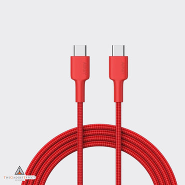 Aukey USB C to USB C Nylon Aramid Fiber PD Cable