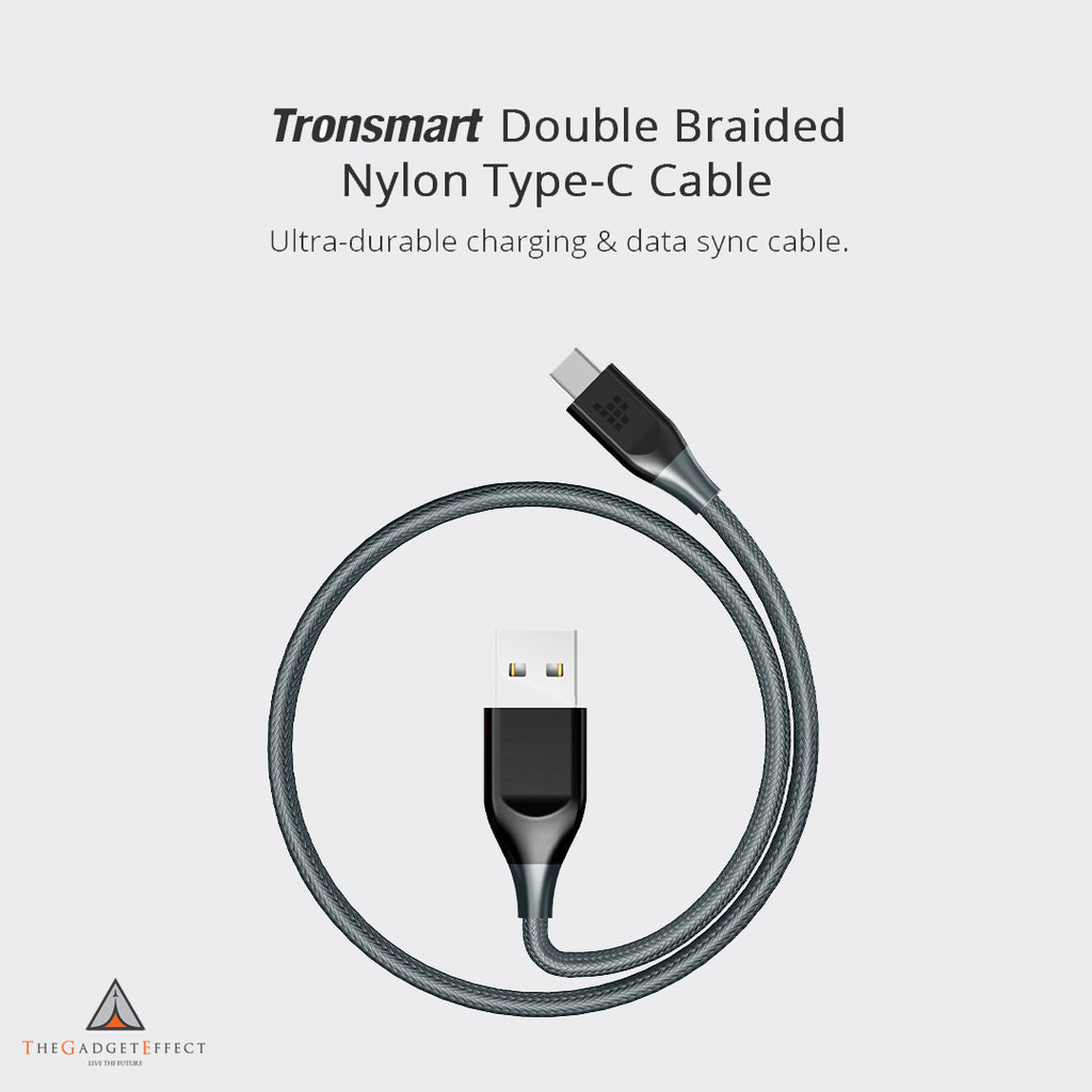 Tronsmart 3 ft USB Type-C Cable (ATC6)