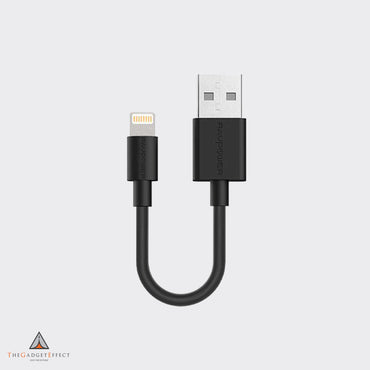RavPower 0.2m Lightning Cable Black – (RP-CB029)