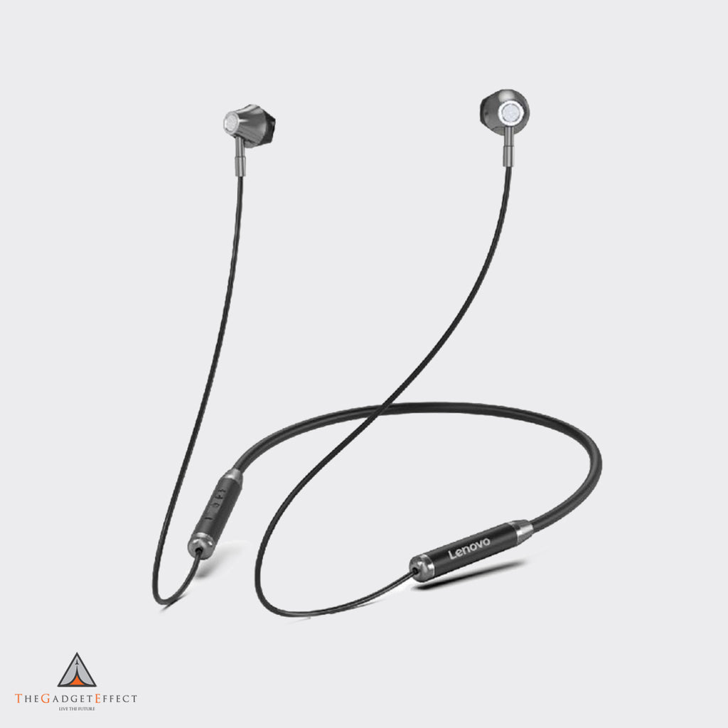 Lenovo Bluetooth 5.0 Neckband Wireless Headphones (HE06)