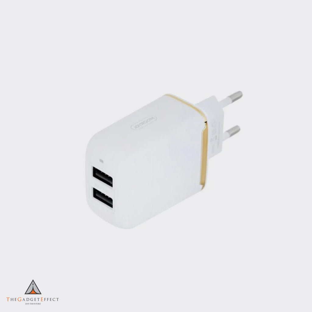 Joyroom 2 Port Wall Charger with iPhone Cable (L-2A12Z)