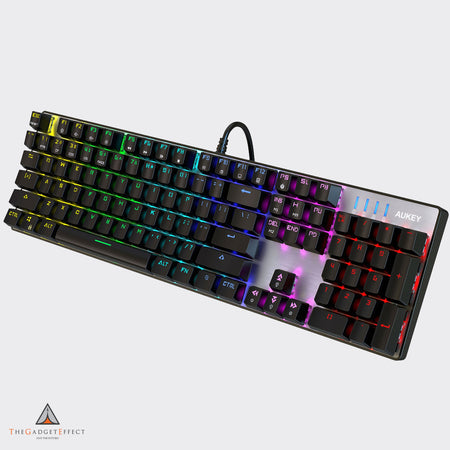 Aukey Mechanical Keyboard 104 Key RGB Backlit (KM-G3)