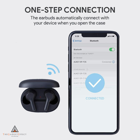 Aukey TWS Bluetooth 5.0 True Wireless Earbuds (EP-T25)