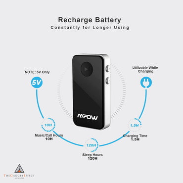 MPOW Streambot Mini Bluetooth Receiver