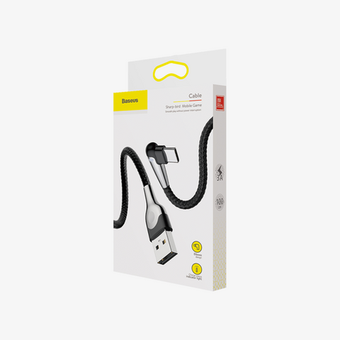 Baseus Sharp-Bird Mobile Game Cable For USB to Type-C 3A