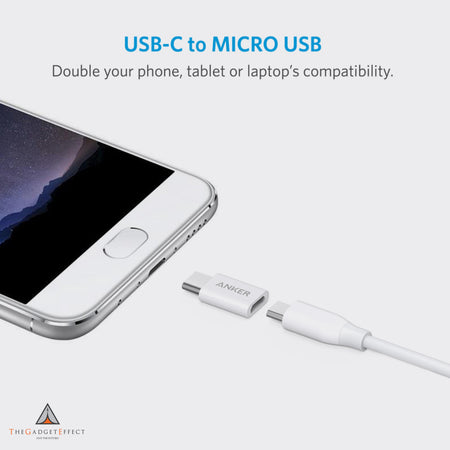 Anker USB-C to Micro-USB Adapter (Pack of 2)
