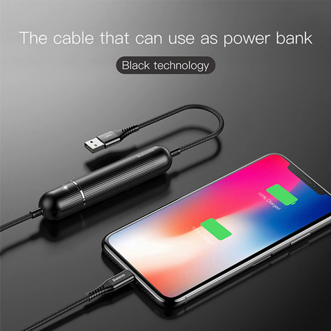 Baseus Energy Two-in-one Power Bank Cable