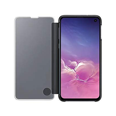 Samsung S10 Leather Clear View Standing Cover