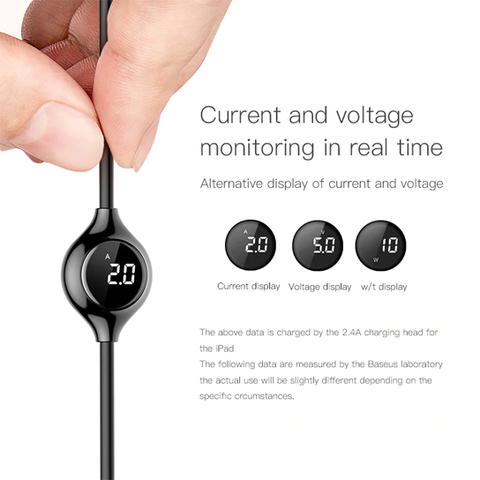 Baseus Big Eye Digital display Data Cable