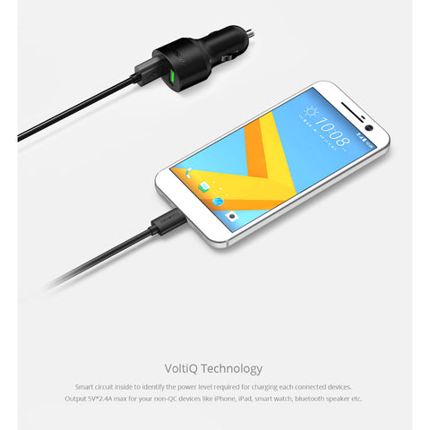 Tronsmart Quick Charge 3.0 Car Charger (CC2TF)
