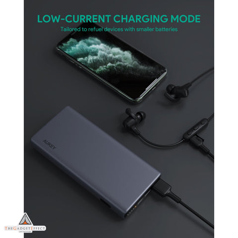 Aukey 18W PD QC 3.0 10000mAh Power Bank with Wireless Charging (PB-Y32)