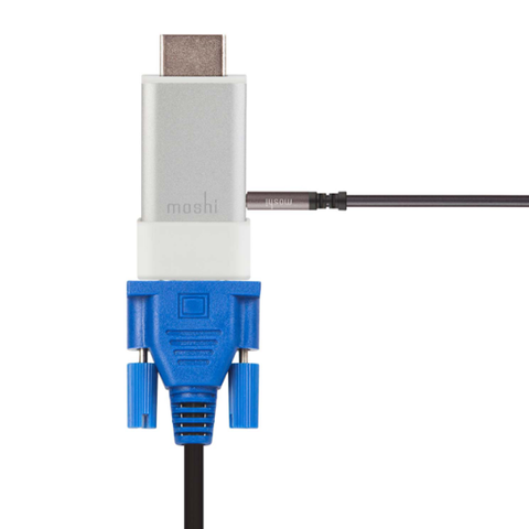 Moshi HDMI to VGA Adapter with Audio