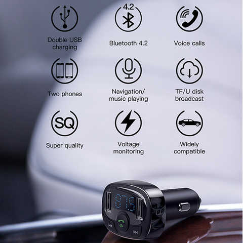 Baseus S-09A T Typed Car Charger