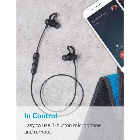 Anker SoundBuds Surge Lightweight Sports Earphones