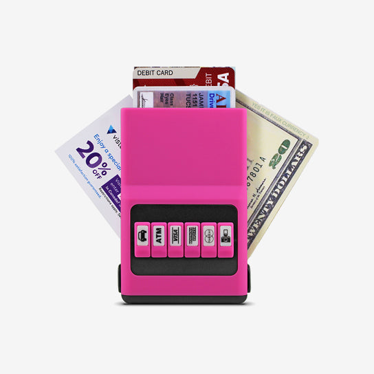 ACM Wallet Jelly Pink