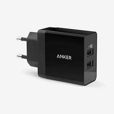 Anker 24W Dual Port Fast Charger