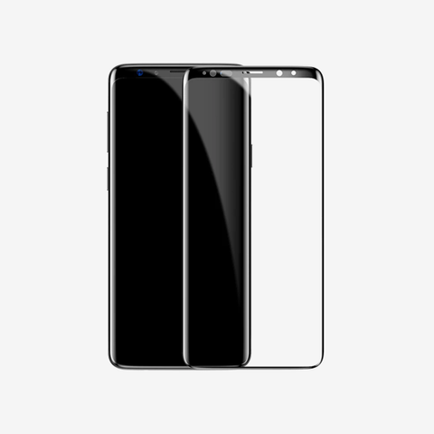 Baseus 0.3mm All-screen Arc-surface Tempered Glass Film For SAMSUNG Galaxy S8 Plus Black