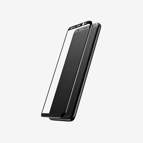 Baseus 0.3mm All-screen Arc-surface Tempered Glass Film For SAMSUNG GALAXY  S9 Plus Black