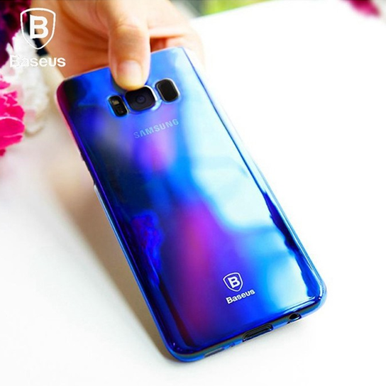 Baseus Glaze Case For SAMSUNG Galaxy S8 Plus Blue