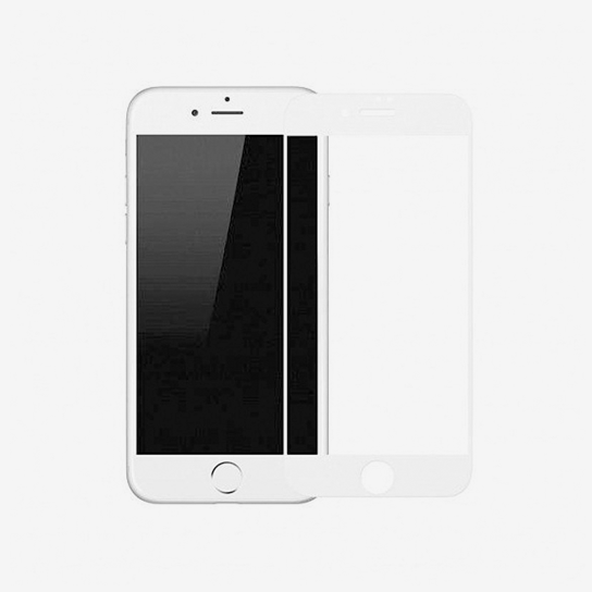 Baseus 0.23mm Anti-Break Edge All-Screen Arc-Surface Tempered Glass Film For iPhone 7/iPhone 8 Plus