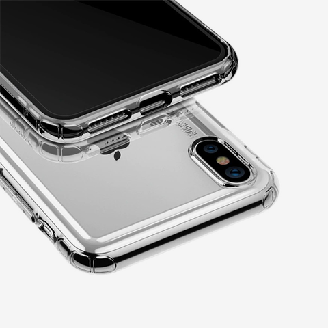 Baseus Safety Airbags Case For iPhone XS Transparent