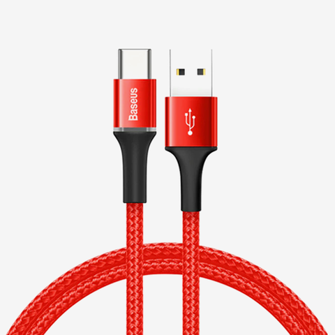 Baseus halo data cable USB For Type-C 3A 1m