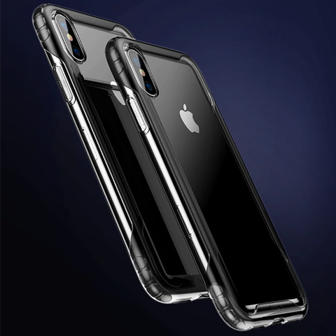 Baseus Safety Airbags Case For iPhone XS m 6.5(2018) Transparent