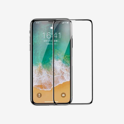 Baseus 0.2mm All-screen Arc-surface Tempered Glass Film for iPhone X