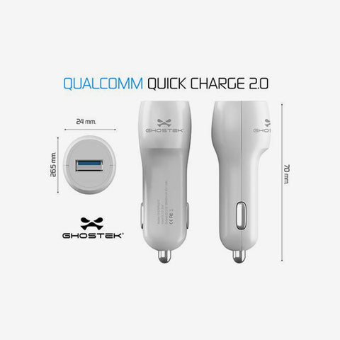 Ghostek Quick Car Charger - The Gadget Effect