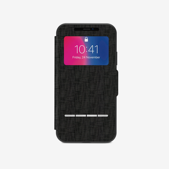 Moshi Sensecover for iPhone X  Black
