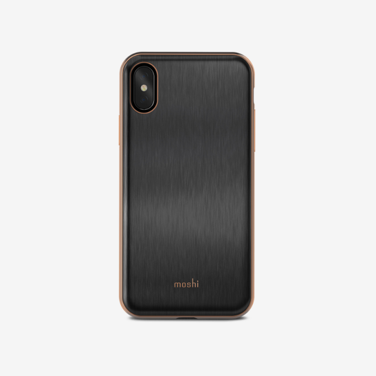 Moshi iGlaze for iPhone X Armour Black