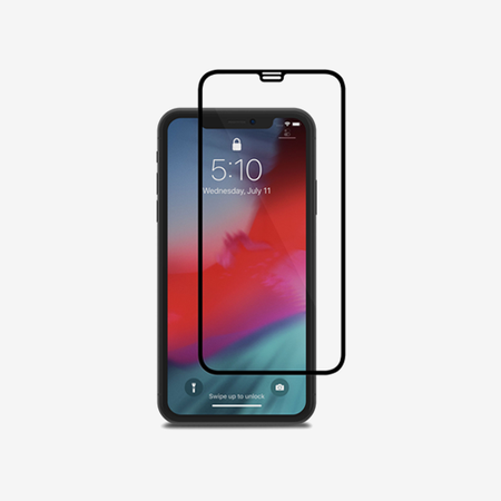 Moshi IonGlass for iPhone XR - Black (Clear/Glossy)