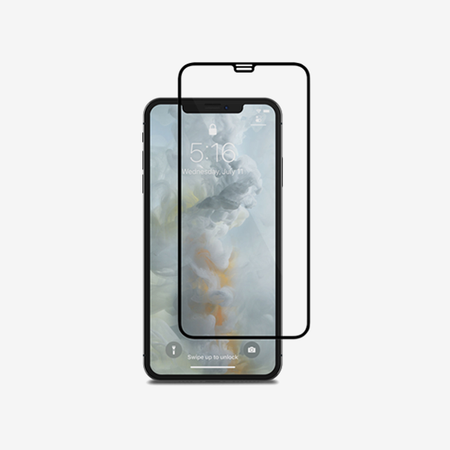 Moshi IonGlass for iPhone XS Max - Black (Clear/Glossy)