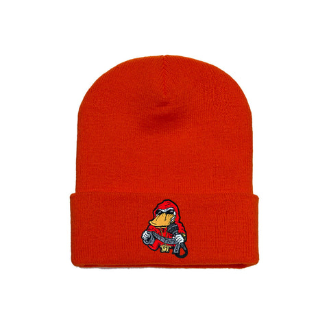 Beanie Red on Red