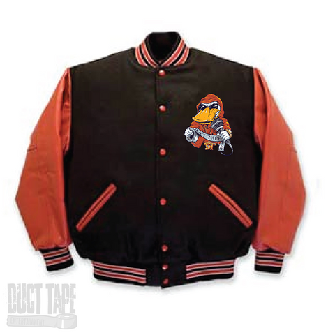 Red & Black Duct Jacket